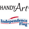 Handy Art & Independence Flag
